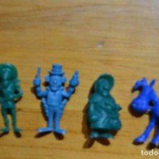 Figuras de Goma y PVC: LOTE LUCKY LUKE. Lote 81126156