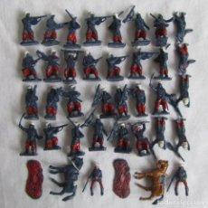 Figuras de Goma y PVC: 35 SOLDADITOS LEGION FRANCESA EN AFRICA EKO. Lote 81178864