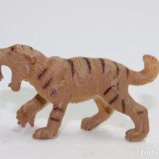 Figuras de Goma y PVC: SAFARI LTD. TOOBS FAUNA PREHISTÓRICA TIGRE DIENTES DE SABLE SMILODON. Lote 81203344