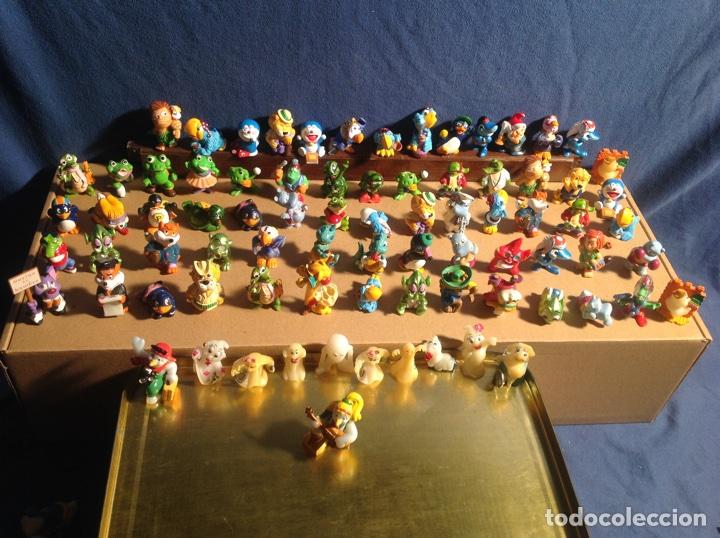 ESPECTACULAR COLECCIÓN FERRERO AÑOS 90 DE 80 FIGURAS MUY DIFÍCILES DE CONSEGUIR!! KINDER MPG EISMANN (Juguetes - Figuras de Gomas y Pvc - Kinder)