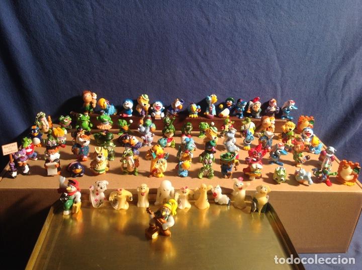 Figuras Kinder: ESPECTACULAR COLECCIÓN FERRERO AÑOS 90 de 80 figuras muy difíciles de conseguir!! KINDER MPG EISMANN - Foto 2 - 81236399