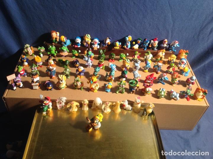 Figuras Kinder: ESPECTACULAR COLECCIÓN FERRERO AÑOS 90 de 80 figuras muy difíciles de conseguir!! KINDER MPG EISMANN - Foto 3 - 81236399