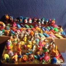 Figuras Kinder: COLECCIÓN ANTIGUA DE MÁS DE 100 FIGURAS DE LA COLECCIÓN DE MPG KINDER. Lote 81244088