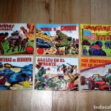 Figuras de Goma y PVC: LOTE MONTAPLEX - 6 SOBRES VACIOS ALFREDO LOSADA - TODOS DIFERENTES. Lote 81286300