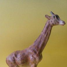 Figuras de Goma y PVC: JIRAFA LINEOL 1930 ZOO ANIMALES SALVAJES EXTRAORDINARIA PERFECTA PARA ARCLA. Lote 81570048