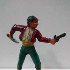 Figuras de Goma y PVC: PIRATA . REALIZADO POR PECH . ORIGINAL AÑOS 50 EN GOMA. Lote 81690312
