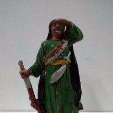 Figuras de Goma y PVC: ARABE BEDUINO FIGURA Nº143 . SERIE LAWRENCE DE ARABIA . REALIZADA POR REAMSA . AÑOS 50 EN GOMA. Lote 81694488