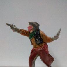 Figuras de Goma y PVC: VAQUERO - COWBOY . REALIZADO POR TEIXIDO . AÑOS 50 EN GOMA. Lote 81698408