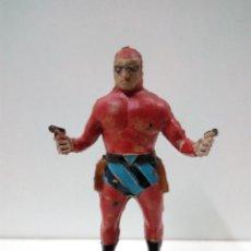 Figuras de Goma y PVC: EL HOMBRE ENMASCARADO . REALIZADO POR JIN - ESTEREOPAST . AÑOS 50 EN GOMA. Lote 81700768