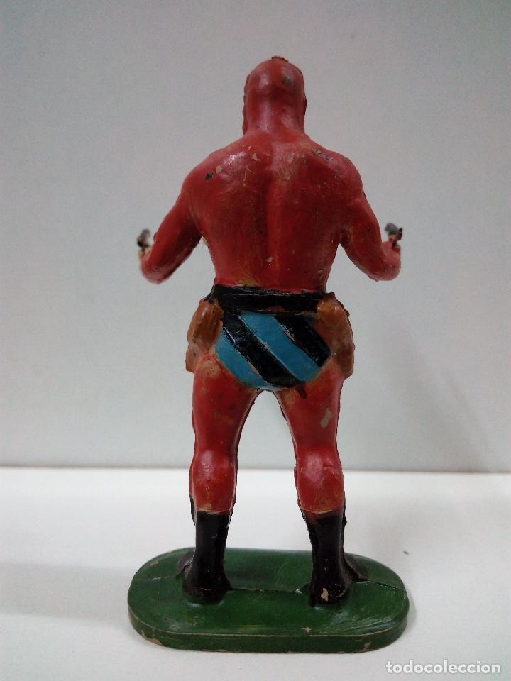 Figuras de Goma y PVC: EL HOMBRE ENMASCARADO . REALIZADO POR JIN - ESTEREOPAST . AÑOS 50 EN GOMA - Foto 2 - 81700768