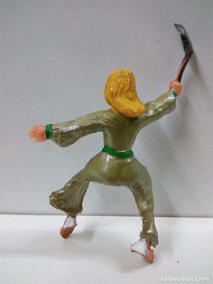 Figuras de Goma y PVC: FIGURA DE SIGRID . SERIE EL CAPITAN TRUENO . REALIZADA POR ESTEREOPLAST . AÑOS 60 - Foto 2 - 81701836