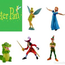 Figuras de Goma y PVC: FIGURAS PVC BULLYLAND - PETER PAN. Lote 81702060