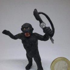Figuras de Goma y PVC: FIGURA DE GOMA - GORILA SAFARI - TEIXIDÓ. Lote 82112956