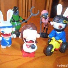 Figuras de Goma y PVC: LOTE DE FIGURAS RABBIDS - UBISOFT. Lote 82389872