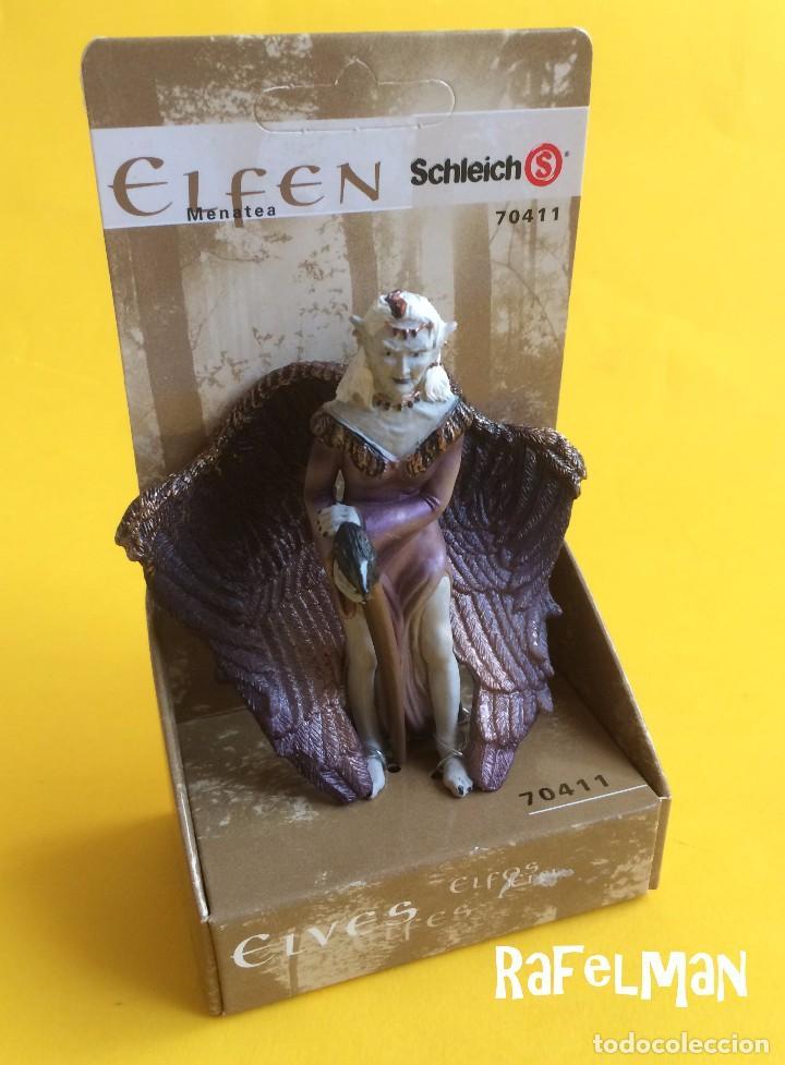 Figuras de Goma y PVC: SCHLEICH - Nº 70411 - SERIE ELFOS - MENATEA - NUEVO A ESTRENAR - Foto 2 - 82491684