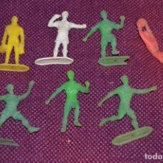 Figuras de Goma y PVC: VINTAGE - LOTE DE FIGURAS - COMANSI FUTBOL - COMANSI ORIGINAL - ¡¡HAZME UNA OFERTA!!. Lote 82969124