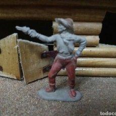 Figuras de Goma y PVC: ANTIGUA FIGURA DEL OESTE REAMSA. SERIE INDIOS Y VAQUEROS. GOMA. 50 MM. AÑOS 50/60.. Lote 82974254
