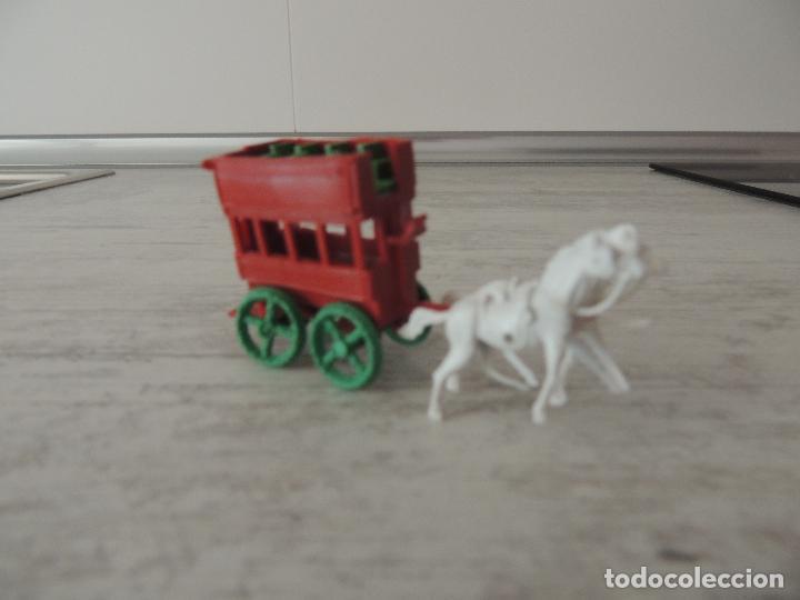 Figuras de Goma y PVC: AUTOBUS TIRADO POR CABALLOS - Foto 5 - 83008932