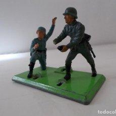 Figuras de Goma y PVC: BRITAINS LTD 1/32 ORIGINAL 70'S.SET MORTERO ALEMÁN INCOMPLETO.2ª GUERRA MUNDIAL.MADE IN ENGLAND.PTOY. Lote 41436312