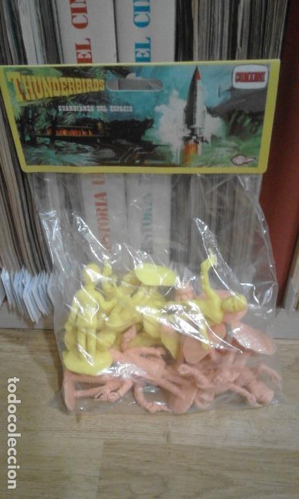Figuras de Goma y PVC: BLISTER FIGURAS THUNDERBIRDS (GUARDIANES DEL ESPACIO) (COMANSI). SIN ABRIR - Foto 2 - 83441388