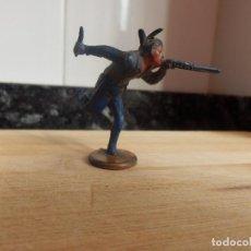 Figuras de Goma y PVC: FIGURA GOMA MARCA GAMA INDIO OESTE. Lote 83461876