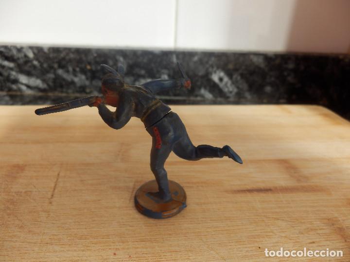 Figuras de Goma y PVC: figura goma marca gama indio oeste - Foto 2 - 83461876