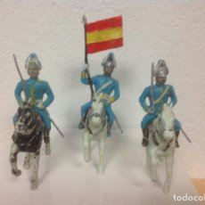 Figuras de Goma y PVC: FIGURAS DESFILE REAL DRAGONES REAMSA - FIGURA DRAGON REAMSA GOMARSA. Lote 83512880