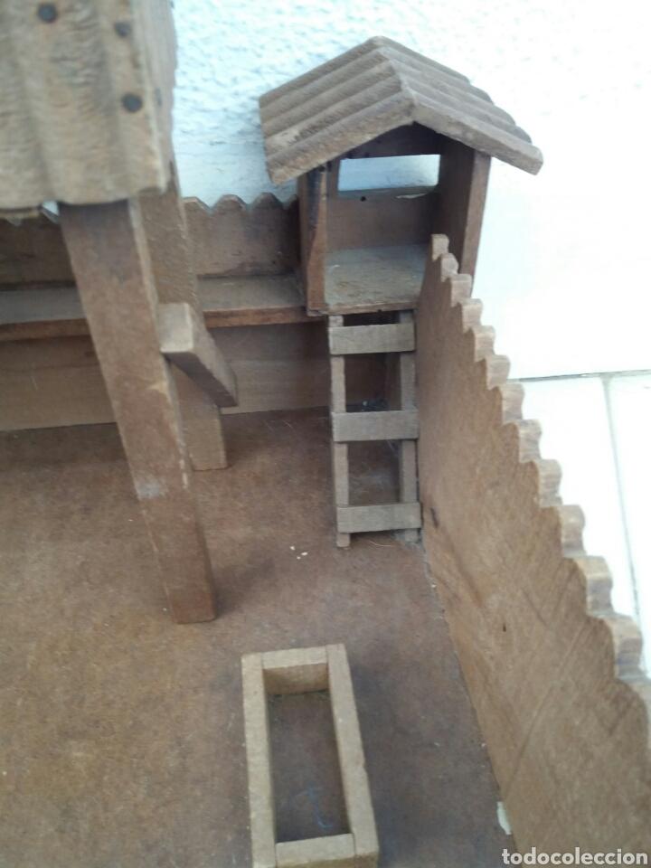 Figuras de Goma y PVC: Fuerte de Madera Fort West. Años 60. Ver fotos y leer descripción. - Foto 3 - 83572751