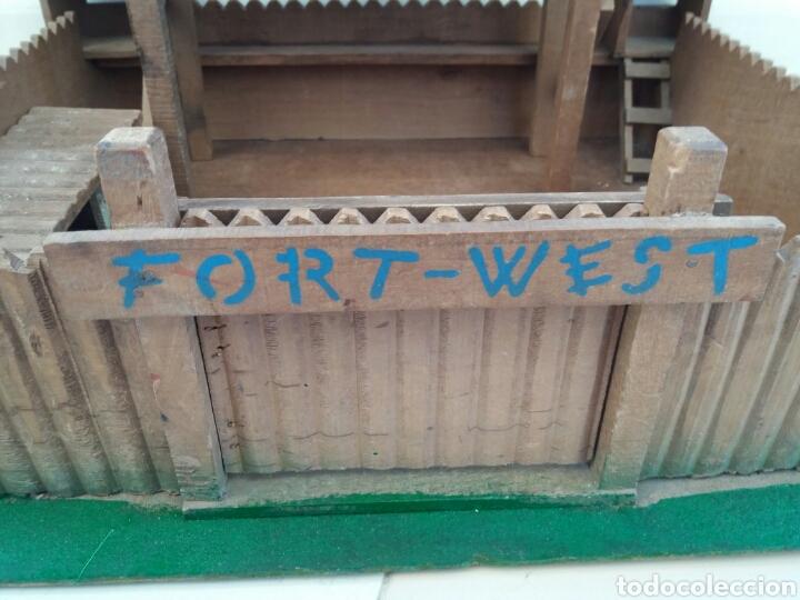 Figuras de Goma y PVC: Fuerte de Madera Fort West. Años 60. Ver fotos y leer descripción. - Foto 5 - 83572751