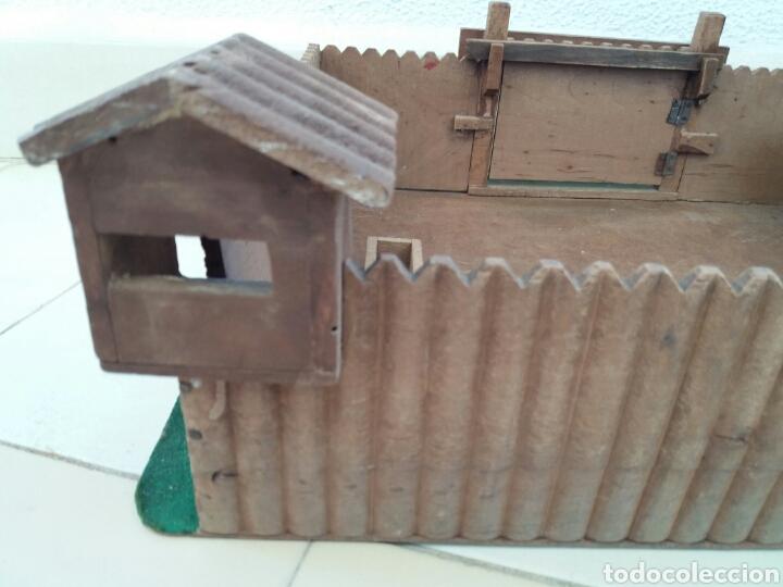 Figuras de Goma y PVC: Fuerte de Madera Fort West. Años 60. Ver fotos y leer descripción. - Foto 7 - 83572751