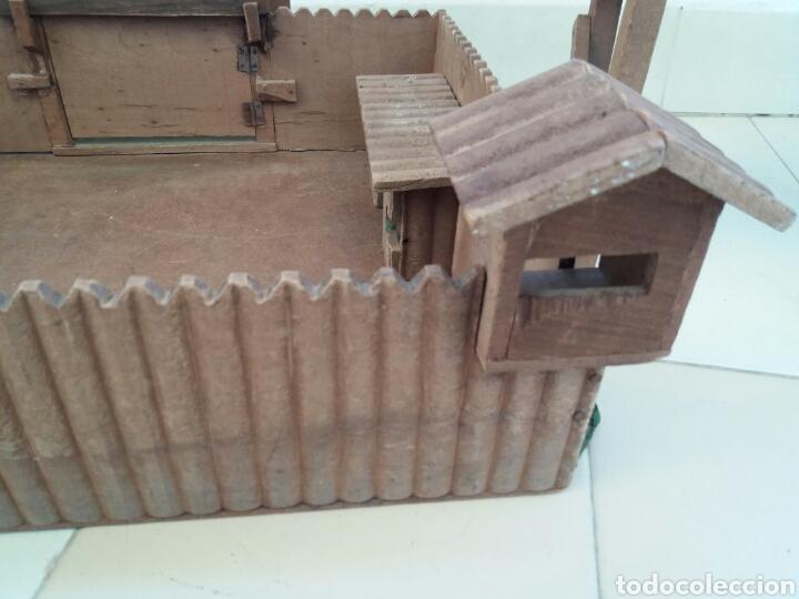 Figuras de Goma y PVC: Fuerte de Madera Fort West. Años 60. Ver fotos y leer descripción. - Foto 8 - 83572751
