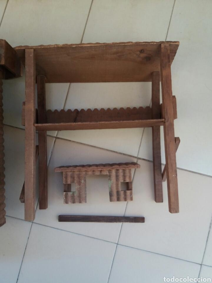 Figuras de Goma y PVC: Fuerte de Madera Fort West. Años 60. Ver fotos y leer descripción. - Foto 10 - 83572751