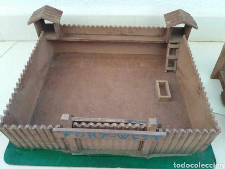Figuras de Goma y PVC: Fuerte de Madera Fort West. Años 60. Ver fotos y leer descripción. - Foto 11 - 83572751