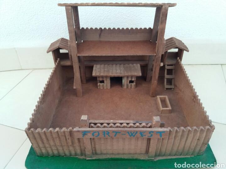 Figuras de Goma y PVC: Fuerte de Madera Fort West. Años 60. Ver fotos y leer descripción. - Foto 13 - 83572751