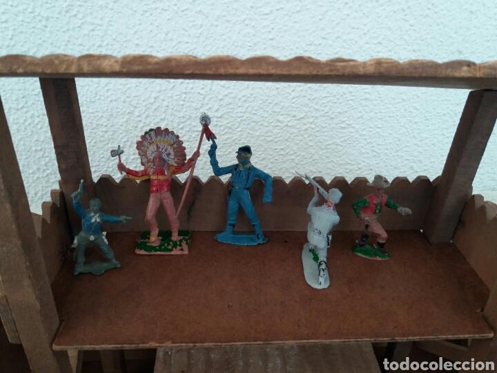 Figuras de Goma y PVC: Fuerte de Madera Fort West. Años 60. Ver fotos y leer descripción. - Foto 14 - 83572751