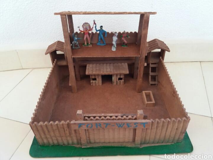Figuras de Goma y PVC: Fuerte de Madera Fort West. Años 60. Ver fotos y leer descripción. - Foto 15 - 83572751