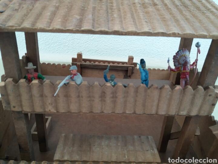 Figuras de Goma y PVC: Fuerte de Madera Fort West. Años 60. Ver fotos y leer descripción. - Foto 16 - 83572751
