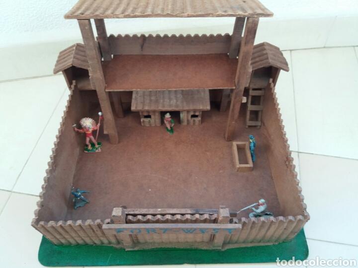 Figuras de Goma y PVC: Fuerte de Madera Fort West. Años 60. Ver fotos y leer descripción. - Foto 17 - 83572751