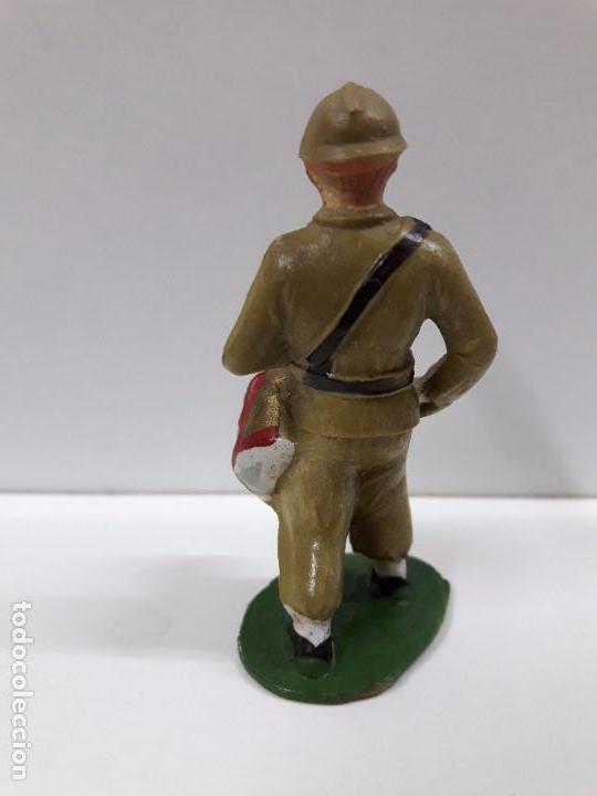 Figuras de Goma y PVC: SOLDADO CON TAMBOR EN DESFILE . REALIZADO POR STARLUX . AÑOS 60 - Foto 2 - 83752604