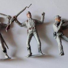 Figuras de Goma y PVC: FIGURAS COMANSI REAMSA PECH TRES SOLDADOS. Lote 81106050