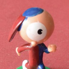 Figuras de Goma y PVC: CLAM - MASCOTA DEL CENTENARIO DEL FUTBOL CLUB BARCELONA. Lote 84176920