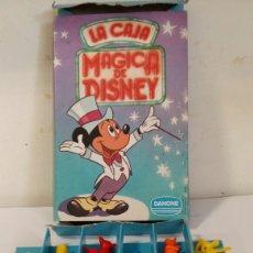 Figuras de Goma y PVC: LA CAJA MAGICA DISNEY DUNKIN DANONE. Lote 84299070