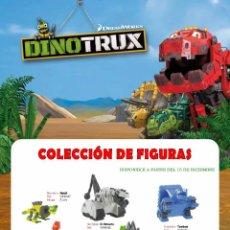 Figuras de Goma y PVC: FIGURAS PVC DINOTRUX COMANSI. Lote 84349904