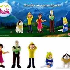 Figuras de Goma y PVC: FIGURAS PVC HEIDI & FAMILIA. Lote 84355216