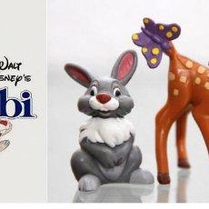 Figuras de Goma y PVC: FIGURA PVC BAMBI & TAMBOR - DISNEY. Lote 145224294