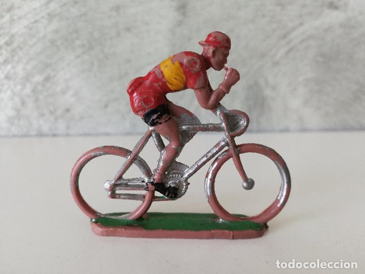 ANTIGUO CICLISTA ESPAÑA SOTORRES (Juguetes - Figuras de Goma y Pvc - Sotorres)
