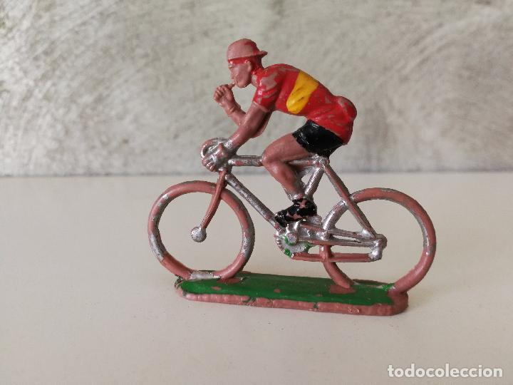 Figuras de Goma y PVC: ANTIGUO CICLISTA ESPAÑA SOTORRES - Foto 2 - 84394268