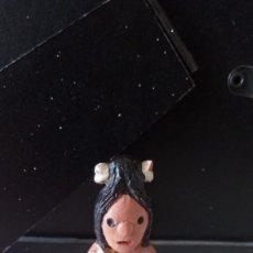 Figuras de Goma y PVC: ANTIGUA FIGURA BARRO CERAMICA TIPO ALBOROX.. Lote 84399880