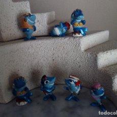 Figuras Kinder: LOTE 7 MUÑECOS - FIGURA KINDER DELFINES FERRERO 1995. Lote 84402692