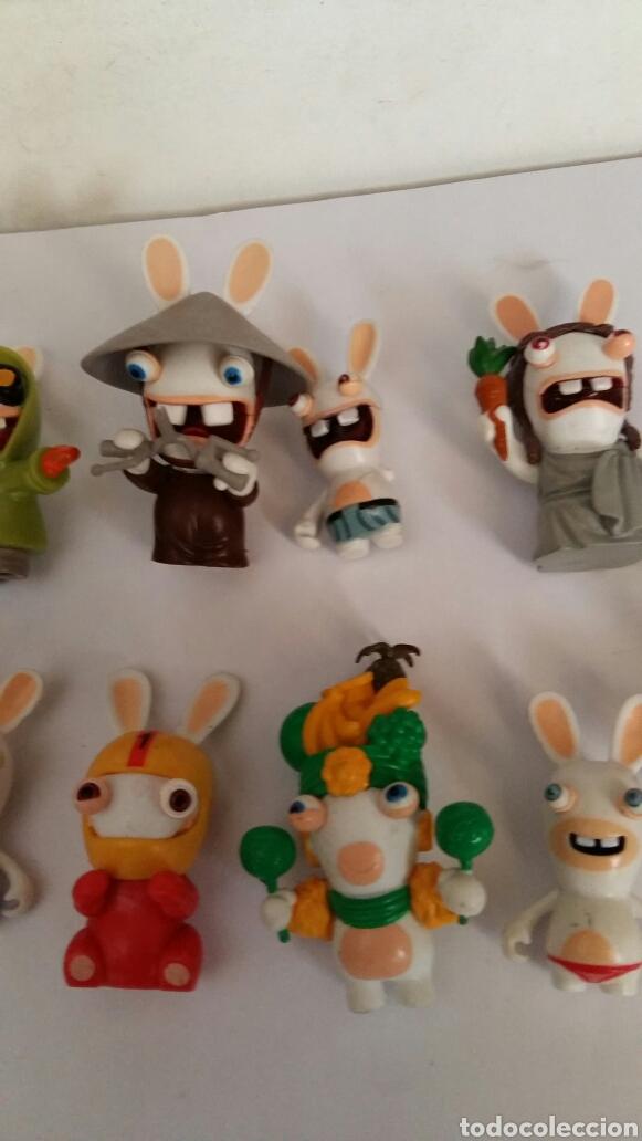 Figuras de Goma y PVC: LOTE DE ONCE FIGURAS UBILART-UBISOFT CONEJOS ZOMBIS - Foto 3 - 84409076